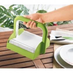 Держатель для бумажных салфеток forme casa зеленый, Guzzini