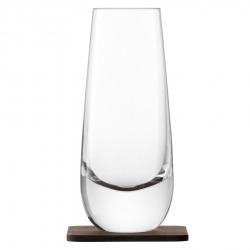 Набор из 2 стаканов Islay whisky с деревянными подставками 250 мл, LSA