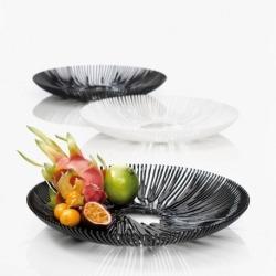 Блюдо для фруктов anemone, чёрное, Koziol