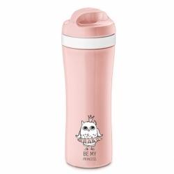 Бутылка elli, 425 мл, розовая, Koziol
