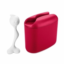 Контейнер для хранения продуктов hot stuff m, красный