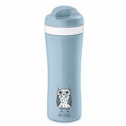 Бутылка elli, 425 мл, голубая, Koziol