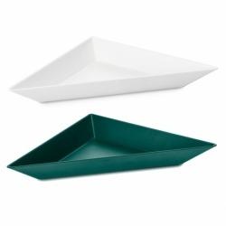 Набор ёмкостей tangram 3 бело-зелёный, Koziol