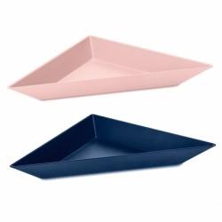 Набор ёмкостей tangram 3 сине-розовый, Koziol