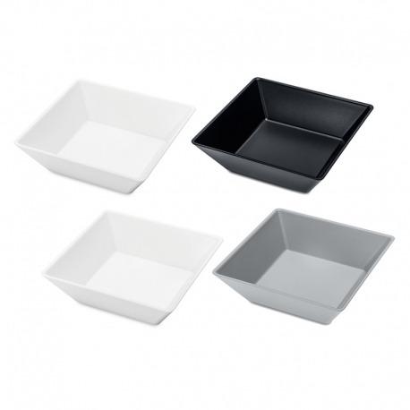 Набор ёмкостей tangram 4 бело-серо-чёрный, Koziol