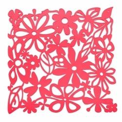 Набор из 4 декоративных элементов alice, красный, Koziol