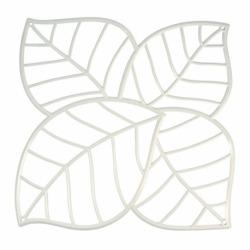 Набор из 4 декоративных элементов leaf, белый, Koziol