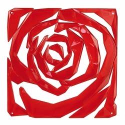 Набор из 4 декоративных элементов romance, красный, Koziol