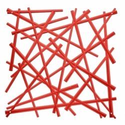 Набор из 4 декоративных элементов stixx, красный, Koziol