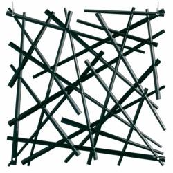 Набор из 4 декоративных элементов stixx, чёрный, Koziol