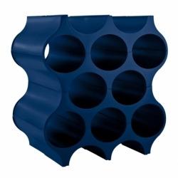 Подставка для бутылок set-up, синяя, Koziol