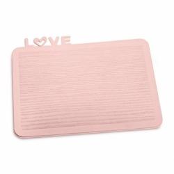 Разделочная доска happy board love, розовая, Koziol