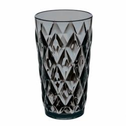 Стакан crystal l, 450 мл, серый, Koziol