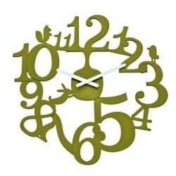 Часы настенные pip, зелёные