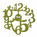 Часы настенные pip, зелёные, Koziol