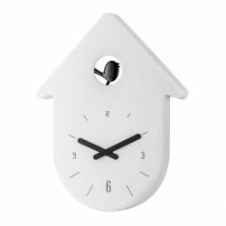 Часы настенные toc-toc, бело-чёрные, Koziol