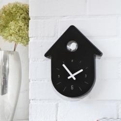 Часы настенные toc-toc, бело-чёрные