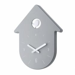 Часы настенные toc-toc, серо-белые