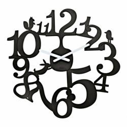 Часы настенные pip, чёрные, Koziol