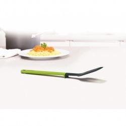 Лопатка-шумовка elevate силиконовая серо-зелёная