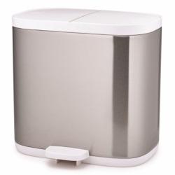 Контейнер для мусора Split для ванной комнаты нержавеющая сталь, Joseph Joseph