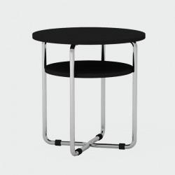 Журнальный стол Bauhaus черный, Woodi