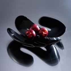 Блюдо для фруктов eve, чёрное, Koziol