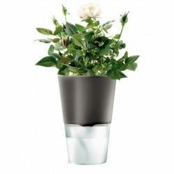 Горшок для растений с функцией самополива ?11 см серый, Eva Solo