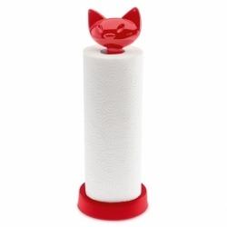 Держатель для бумажных полотенец miaou красный, Koziol