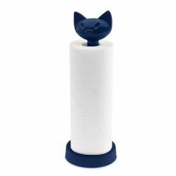 Держатель для бумажных полотенец miaou, синий, Koziol