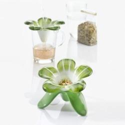 Ёмкость для заваривания audrey бело-зелёная, Koziol