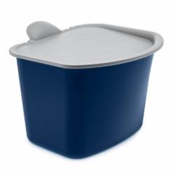 Контейнер для мусора bibo, сине-серое, Koziol