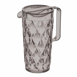 Кувшин crystal, 1,6 л, серый, Koziol
