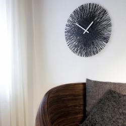 Часы настенные Silk розовые, Koziol
