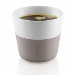 Чашки для лунго, 2 шт., пурпурно-серые