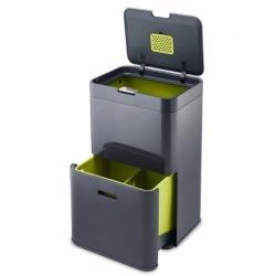 Контейнер для сортировки мусора Totem 48 л графит, Joseph Joseph