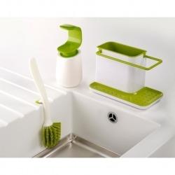 Набор из органайзера для раковины, диспенсера для мыла и щетки для мытья посуды, Joseph Joseph