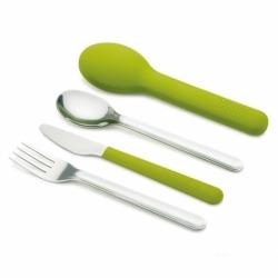Набор столовых приборов GoEat™ Cutlery Set зелёный, Joseph Joseph