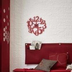 Часы настенные pip, розовые, Koziol
