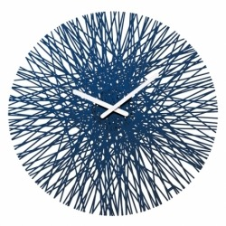 Часы настенные Silk синие, Koziol