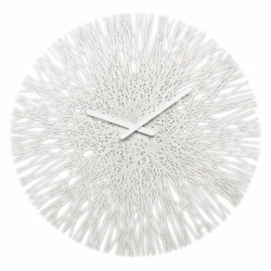 Часы настенные Silk белые, Koziol
