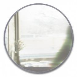 Зеркало настенное Hub Д94 см серое, Umbra