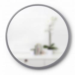 Зеркало настенное Hub Д61 см серое, Umbra