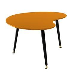 Журнальный стол Почка оранжевый, Woodi