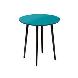 Маленький обеденный стол Спутник бирюзовый, Woodi