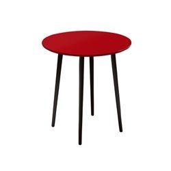 Маленький обеденный стол Спутник красный, Woodi