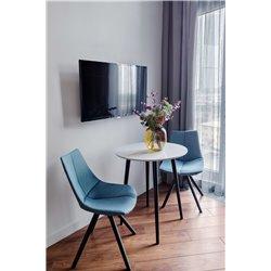 Маленький обеденный стол Спутник светло-серый, Woodi