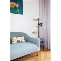 Подушка декоративная Geometry желто-горчичный, Woodi
