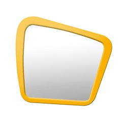 Зеркало Woodi среднее крашеное желто-горчичный, Woodi