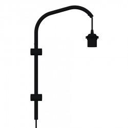 Основание для бра Мини Willow Mini wall hanger black H 50 cm, Umage (ex. VITA Copenhagen)